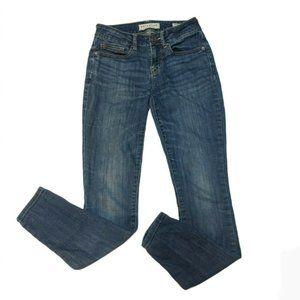 Bullhead Juniors Medium Wash Skinny Ankle Jeans 1